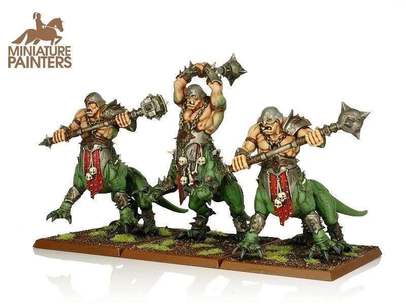 BRONZE Dragon Ogres