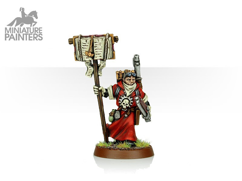 SILVER Missionary with Chainsword