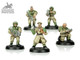 SILVER Cadian Command Squad