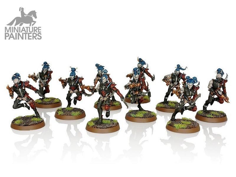 New Warhammer 40K DARK ELDAR DRUKHARI Wyches Assault Unit