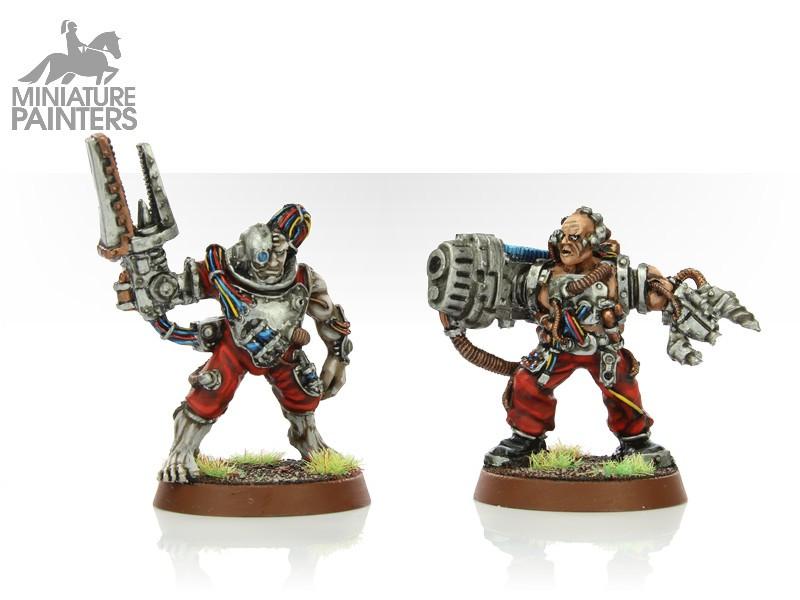 SILVER Servitors with Plasma Cannon