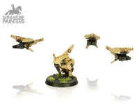 Warhammer 40K - Tau Empire - Heavy Support - MINIATURE PAINTERS