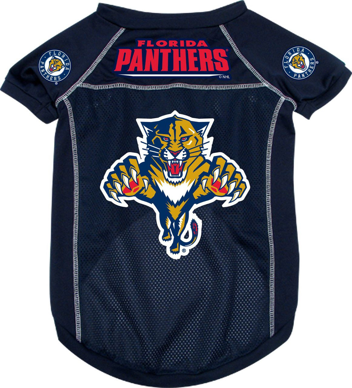 new product 4c265 6ab9e Florida Panthers NHL Pet Jersey 4 sizes