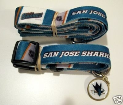 lowest price b9bc9 52ed8 San Jose Sharks NHL 3pc Pet Set