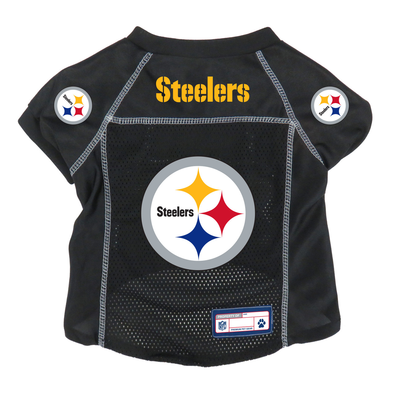 09054f569 ... Pittsburgh Steelers NFL Pet Jersey Little Earth 5 sizes. Image 1