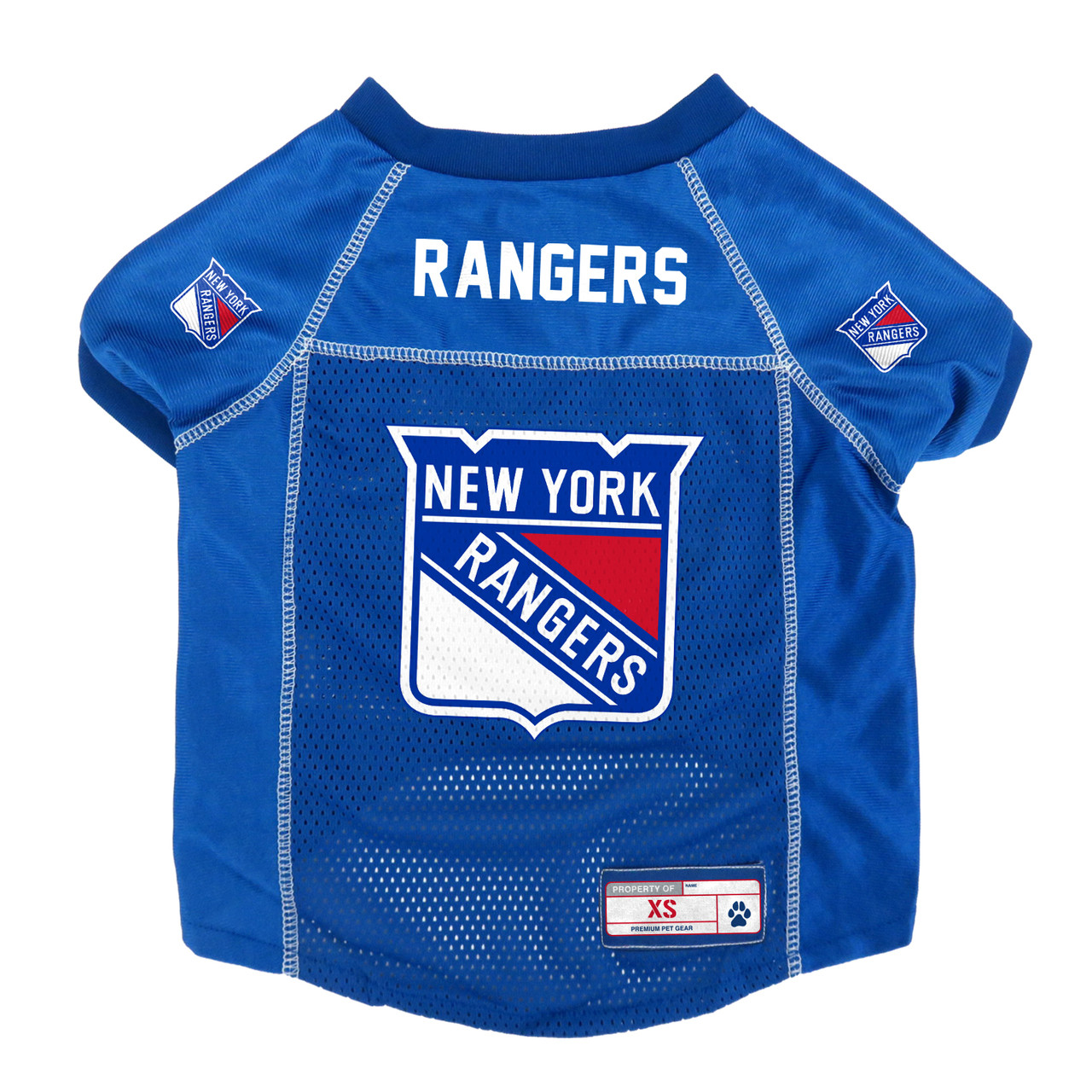 a9940994c5f ... NHL New York Rangers Pet Jersey Little Earth 5 sizes. Image 1