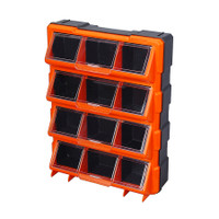 12 Compartment Storage Bin With Clear Cover TTX-320648