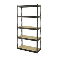 5-Shelf Rack 86.5 x 35.5 x 183 cm TTX-329016