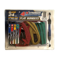 24Pc Flat Bungee Pack - CGL-32404