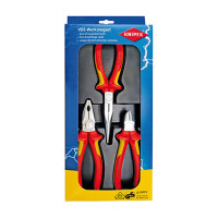 Safety Pack - Combination Pliers, Snipe Nose Side Cutting Pliers and Diagonal Cutter  - KPX-002012