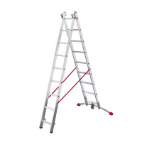 ProfiLot - Aluminium Multi-Purpose 2x19 Rungs Ladder
