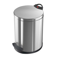 Pedal Waste Bin T2 M - 11 Litre - Anti Fingerprint - HLO-0513-034