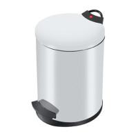 Pedal Waste Bin T2 M - 11 Litre - White - HLO-0513-429