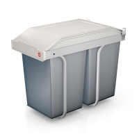 Multi-box Duo L - 2x14Litre - White - HLO-3659-001