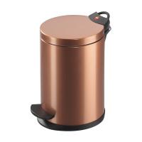 Pedal Bin T2 S - 4 Litre - Copper - HLO-0704-800