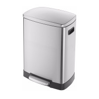 Pedal Bin - TR-45 - 46 Litre - Stainless Steel Anti Fingerprint - HLO-0845-610
