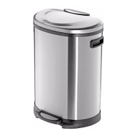 Pedal Bin - TS-45 - 46 Litre - Stainless Steel Anti Fingerprint - HLO-0845-620