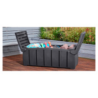 Garden Storage Box - 300 Litre - 115 x 55 x 60 cm Made in UK