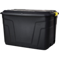 Heavy Duty Storage Box with Wheels - 190 Litre - 99.7 x 59 x 66 cm - Made in UK