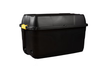 Heavy Duty Storage Box with Wheels - 175 Litre - 94 x 52 x 56 cm - Made in UK