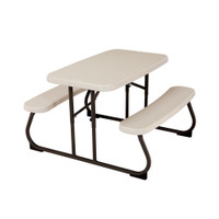 Lifetime Children's Picnic Table, 2 Year Limited Warranty, Almond colour, LFT-280094