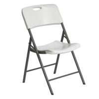 Lifetime Folding chair, Light Commercial, White Granite colour, LFT-80586