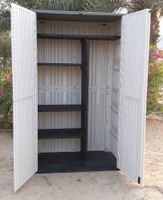 Outdoor Vertical Storage Cabinet with shelf, Extra Large, 52 Cubic Feet