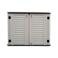 OUTDOOR STORAGE CABINET, HEAVY DUTY, HORIZONTAL SHED, 5 YEAR WARRANTY, CAMELTOUGH HTC-CT-630