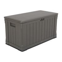439L, Heavy Duty Storage Box, 10 Year Limited warranty, Brown Colour Box, Brown Lid, LFT-60089