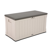 439L Heavy Duty Storage Box,10 Year Limited warranty, Desert Sand Colour Box, Brown Lid LFT-60186