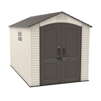 Outdoor Storage Shed - 7 Feet X 12 Feet - 10 Years Limited Warranty