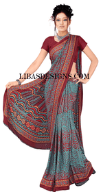 Casual sari CS116