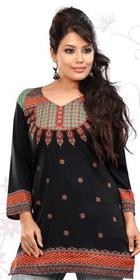 Silky Ethnic Kurti Tunic #DK697