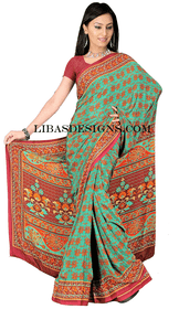 Casual sari CS105