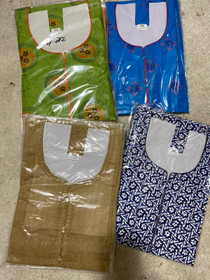 Whlesale LOT of 20 Long cotton Plus size Kurti