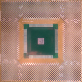 "Schmartboard|ez QFP, 120 - 144 Pins 0.8mm Pitch, 4"" X 4"" Grid (202-0030-01)"