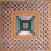 "Schmartboard|ez QFP, 112 - 160 Pins 0.65mm Pitch, 4"" X 4"" Grid (202-0031-01)"