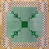 "Schmartboard|ez PLCC, 20 - 84 Pins 0.05"" Pitch, 2"" X 2"" Grid (202-0012-01)"