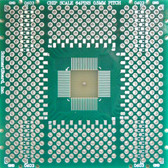 "Schmartboard|ez QFN, 64 Pins 0.5mm Pitch, 2"" x 2"" Grid (202-0020-01)"
