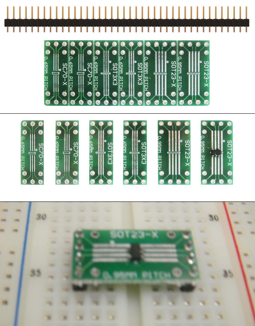 SOT23 Test Adaptor PEAK PCA23 SOT 23 SOT-23 Component Adaptor JPSS127