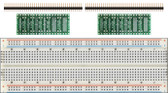 Schmartboard 2 Pack of Schmartboard|ez SOT 23 & SC70 SMT to DIP Adapter Plus a Free Breadboard (204-0003-31)