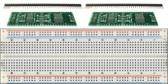 Schmartboard 2 Pack of Schmartboard|ez 0.65mm Pitch SOIC to DIP adapter Plus a Free Breadboard (204-0006-31)