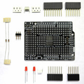 Schmartboard|ez 0.65mm Pitch SOIC Surface Mount Prototyping shield for Arduino Uno (With Components) (206-0006-02)
