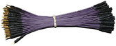 "Schmartboard Qty. 100 5"" Purple Male to Female Jumper Wires (920-0023-01)"