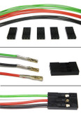 "Schmartboard Qty. 10 three prong female to female cable harness with fifteen 12"" cables (920-0080-01)"
