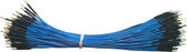 "Schmartboard Qty. 100 7"" Blue Male Jumper Wires (920-0100-01)"