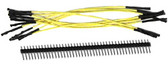 "Schmartboard Qty. 10 5"" Yellow  Female Jumper Wires and 40 Headers (920-0006-01)"