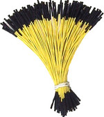 "Schmartboard Qty. 100 5"" Yellow Female Jumper Wires (920-0009-01)"