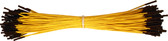 "Schmartboard Qty. 100 7"" Yellow Female Jumper Wires (920-0111-01)"