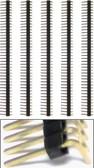Qty. 5 40 Pin 2mm Spacing Single Right Angle Row Headers (920-0078-01)